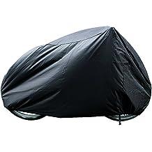 Funda Para Bicicletas Impermeable, Funda de Bici Resistente contra UV Sol Lluvia Polvo para Bici Motocicleta 190x 65x 98CM-Negro