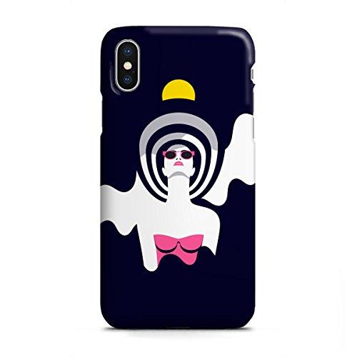 artboxONE Apple iPhone X Premium-Case Handyhülle Moonrise II von Sasha Lend - Premium-Case Handyhülle Smartphone Case