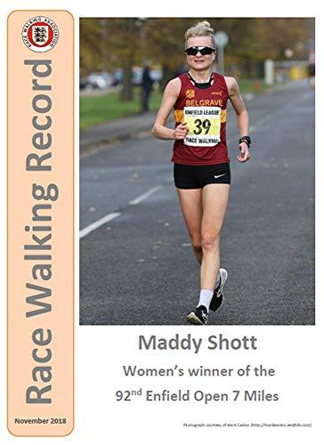 Race Walking Record 878 - November 2018 (English Edition) por Noel Carmody