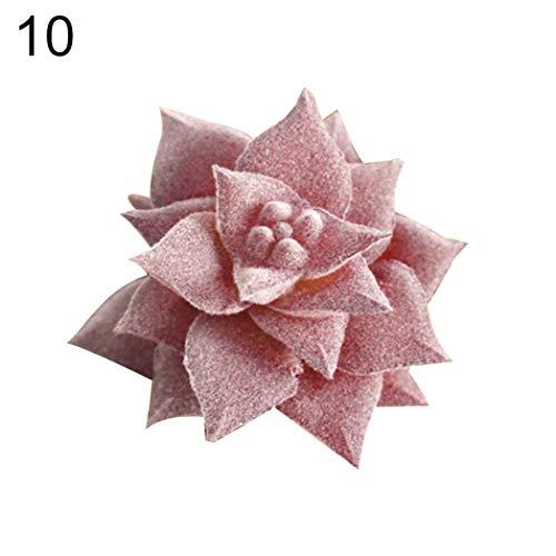 TLfyajJ 1 st¨¹ck k¨¹nstliche sukkulente DIY Blume Bonsai Home Office Desktop Tisch dekor-10# -