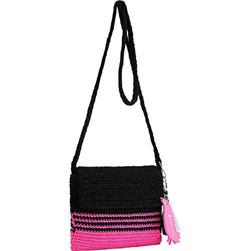 sakroots-byron-crochet-flap-crossbody-neon-pink-cabana-str