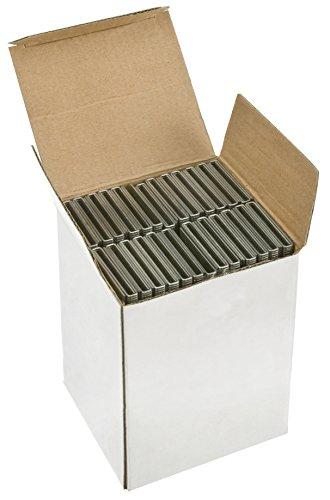 """Steelex D3942 18 g 1 1/2 """"x 1/4""""-Acier galvanisé Couronne Boîte de 5000 agrafes"""