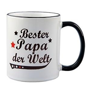 Tasse Bester Papa der Welt Vintage Style - Geschenk - Vater - Vatertag