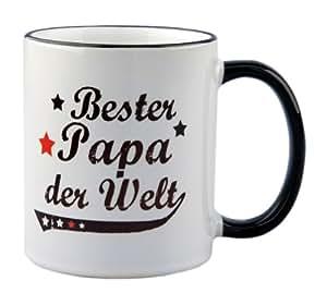 Tasse Bester Papa der Welt Vintage Style – Geschenk – Vater – Vatertag