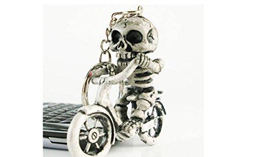 kelaina 1pieza especial bicicleta calavera esqueleto monedero...