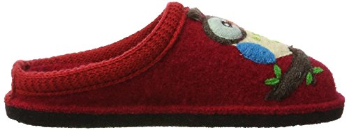 Haflinger Flair Olivia, Chaussons Mules mixte adulte Rot (Ziegelrot)
