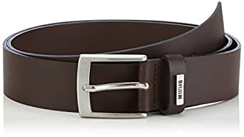 MUSTANG Basic Belt Mustang Loop - Ceinture - Homme - Marron (chocolate 340) - 125 (Taille fabricant: 125)