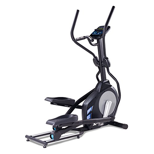 Xterra Unisex Free Style 3.5 Elliptical Cross Trainer, Black/Silver, One Size