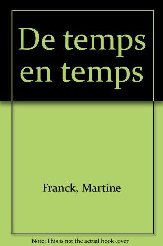 De temps en temps par FRANCK (Martine)