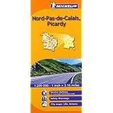 Nord-Pas-de-Calais, Picardie (Michelin Regional Maps)