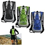 Alcoa Prime Camping Hiking Cycling Marathon Running Hydration Pack Backpack Bag 5L Blue