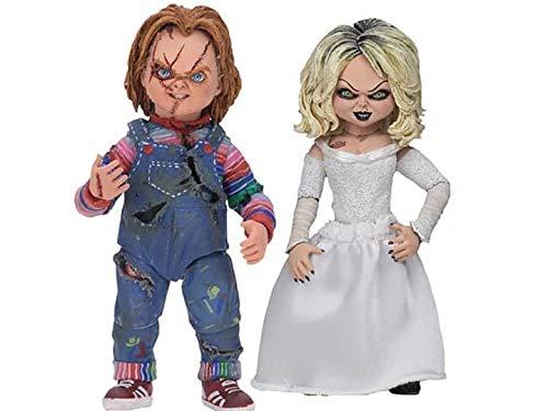 Neca - Figurine Bride of Chucky - Ultimate 2-Pack Tiffany & Chucky 10cm - 0634482421147