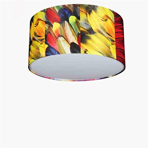 Uncle Sam LI-personnalité de la mode nordique éclairage salle de plafond de vie minimaliste accessoires créatifs, plume