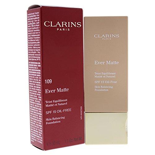 CLARINS Makeup Cla Teint Ever Matt SF15 109 wheat