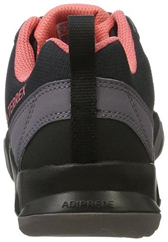 adidas Terrex Ax2r W, Chaussures de Randonnée Femme Noir (Negbas/negbas/rostac)