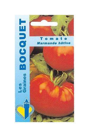 Les Graines Bocquet - Graines De Tomate Marmande Vr - Graines Potagères À Semer - Sachet De 1Grammes