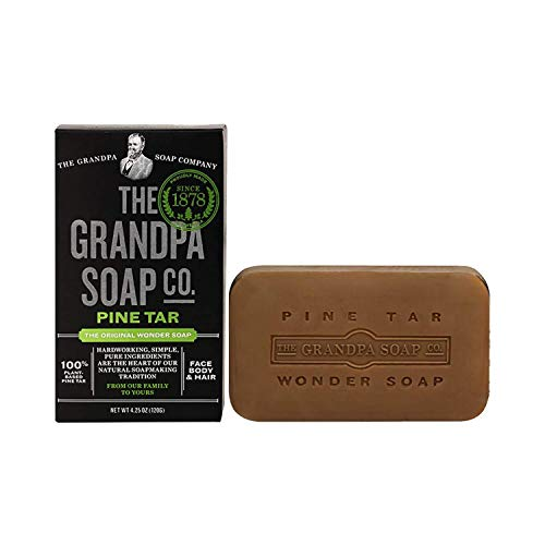 Grandpa's Brands Pine Tar Soap, 4.25 Ounce by Grandpa's - Pine Körper