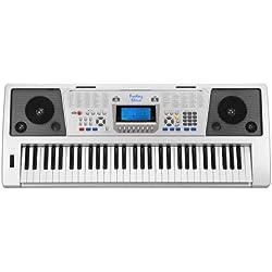 Teclado Piano para Principiantes Amateurs - FunKey 61 Plus