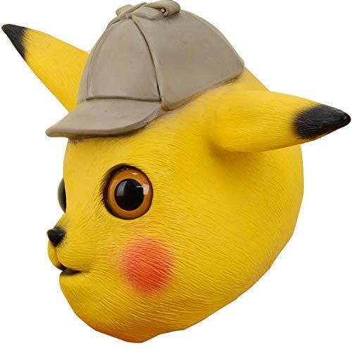 Pikachu Kopf Kostüm - HLXXX Neue Kreative Maske Nettes Baby