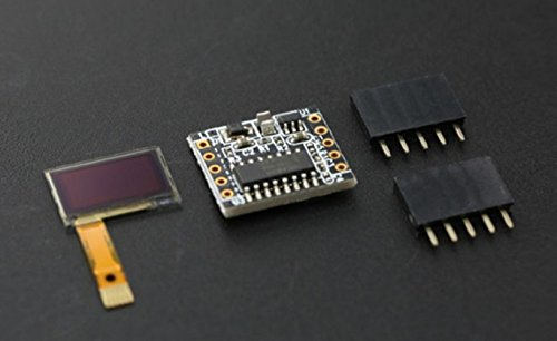 1,3cm OLED display Shield per Arduino/His mini display OLED è piccolo quanto il fingernail- da adulto 12,7cm solo ha 450cd/m ^ 2luminosità dello schermo con molto alto contrasto e leggibilità