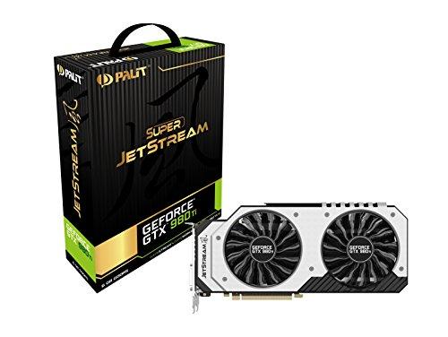 Bild 1: Palit NE5X98TH15JBJ Super Jetstream GTX980TI NVIDIA Grafikkarte (PCI-e 6GB GDDR5 DVI, HDMI, Display Port)