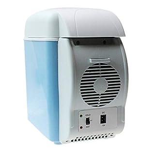 Dhrfyktu Elektrischer Autokühler und -wärmer 7,5 l tragbarer elektrischer 12 V-Kühler/Wärmer für PKW, LKW, SUV, Wohnmobile und Anhänger mit Gleichstromversorgung (Farbe : No cup holder)