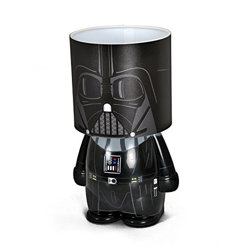 Star Wars Darth Vader Look ALite LED Tischlampe Moodlight 25cm Kunststoff schwarz