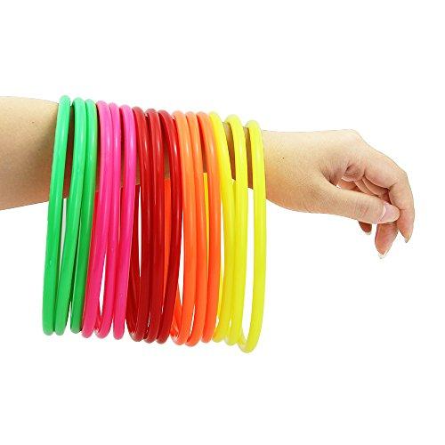JTDEAL-15-pcs-Anillo-de-plstico-5-colores-actividades-de-la-escuela-plstico-toss-anillos-14507cm-anillos-de-lanzamiento-actividades-de-casa-juguetes-rompecabezas