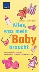 Alles, was mein Baby braucht: Garantiert nichts vergessen - übersichtliche Checklisten für das erste Jahr