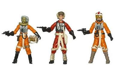 Star Wars 3.75 Inch Evolutions - Rebel Pilots #2 Legacy 3Pk by Hasbro
