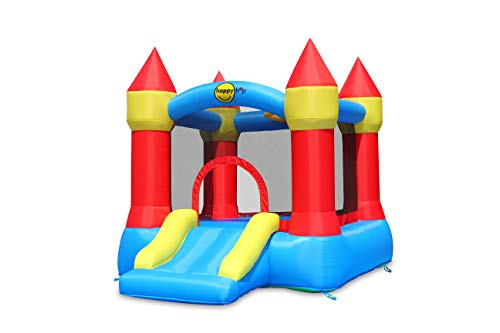 Happy Hop 9221. Castillo Hinchable: Bouncer with Slide and Hoop.