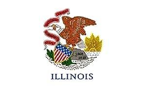 U24 Flagge Fahne Illinois 90 x 150 cm