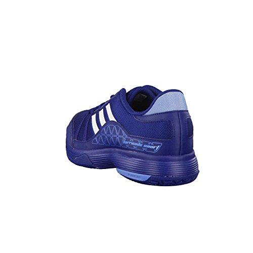 adidas Barricade Court Tennisschuh Herren Mystery Blue/Ftwr White/Tech Blue Met.