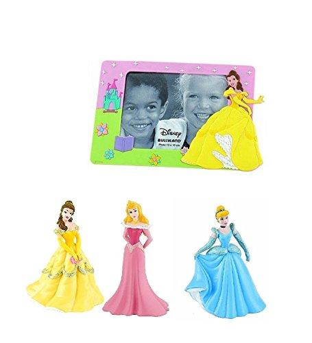 Bullyland Cinderella Figurenset + Disneys Belle Bilderrahmen - Bullyland Cinderella Set