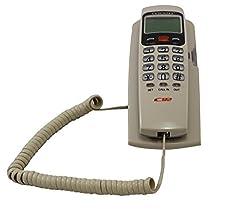 Lemish Landline Caller Id KX-T555 LCD Telephone Corded Phone-Cream