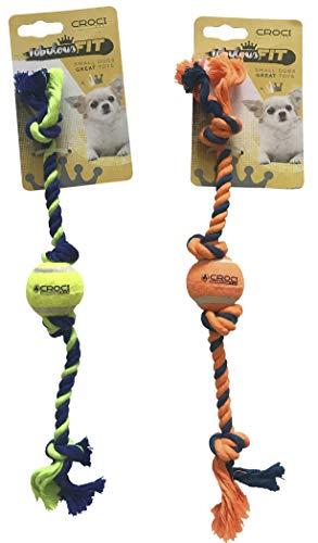 Cruz Cuerda Caoutc. Mini con Pelota de Tenis