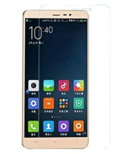 Buy 1 Get 1 Free 2.5D Curve Tempered Glass Micromax Yureka Screen Protector | Micromax Yureka Screen Guard Crystal Clear Anti Bubble Shatter Proof from FrossKin