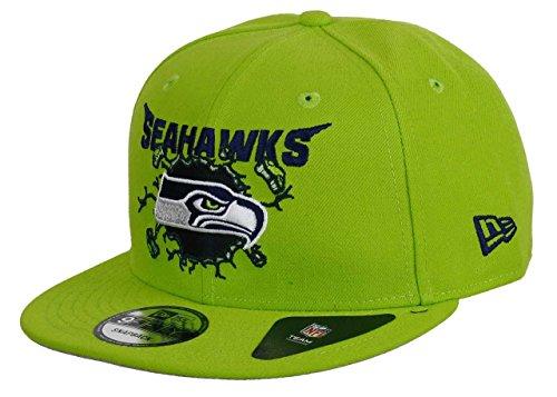 New Era Seattle Seahawks 9fifty Snapback Crusher Green - One-Size