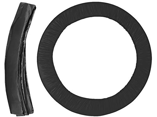 MALATEC Federabdeckung Randschutz für Trampolin 183cm/244cm/305cm/366cm/ 404cm/427cm 2229, Größe:366 cm