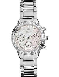 Guess Damen-Armbanduhr Analog Quarz Edelstahl W0546L1