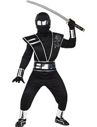 Silver Mirror Ninja Chld Sm 4-