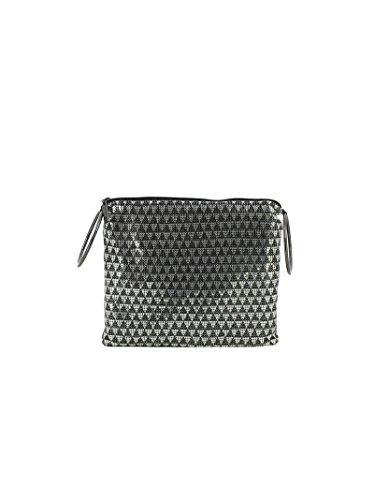 whiting-davis-borsa-a-mano-donna-14161blacksilver-fibre-sintetiche-argento-nero
