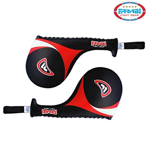 41yBqO9ECaL. SS500  - Farabi Taekwondo Racket Hand Karate Kick Boxing Strike Pad Martial Art X 1 UNIT