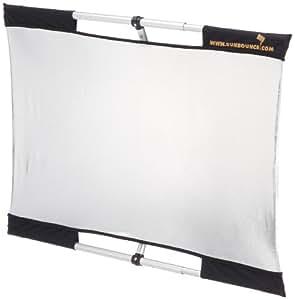 Sunbouncer Micro-Mini Traveller Kit silber - Rückseite weiß (nahtlos)