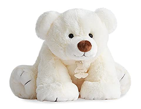 Histoire d'Ours MM Gros Ours Ecru 50 cm