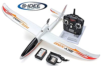 s-idee® 01654 airplane F959 Sky King remote controlled with 2.4 GHz technology with Lipo battery from s-idee®