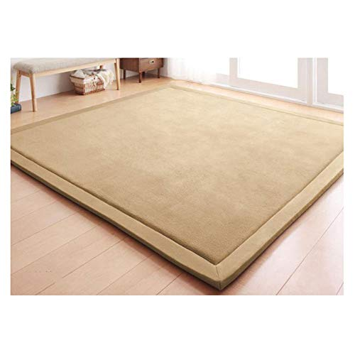 Gxf1222 GXF Teppich Coral Velvet Teppich Kinder Krabbelmatte Tatami Matte Kissen Matratze, geeignet für Wohnzimmer Schlafzimmer, a, 150 * 200CM