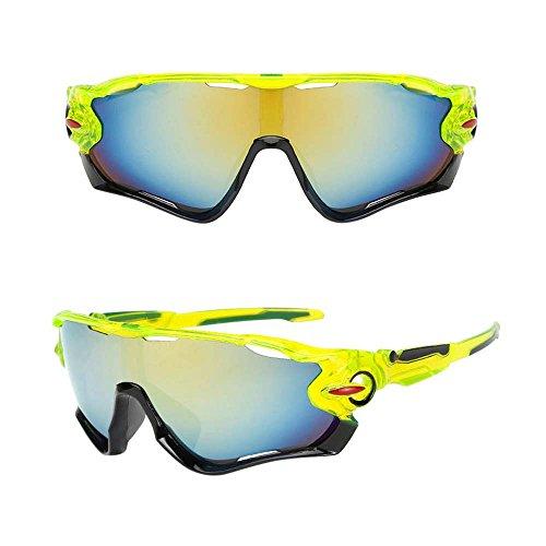 Gafas de Bicicleta/gafas de montar, ASHOP Gafas de sol de ciclismo Gafas de bicicleta Gafas de sol polarizadas (E)