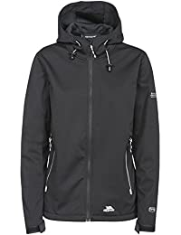 Trespass mujeres de la Marsa impermeable Softshell/al aire libre chaqueta, mujer, color negro, tamaño XS