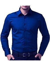 Nutlase Royal Blue Men's Casual/Formal Wear Shirt
